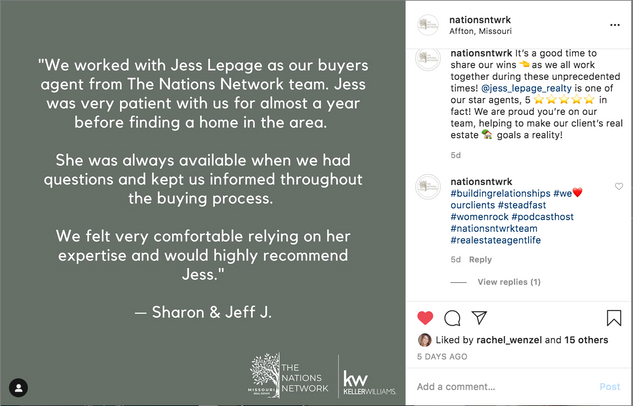 the nations network Jess Lepage review