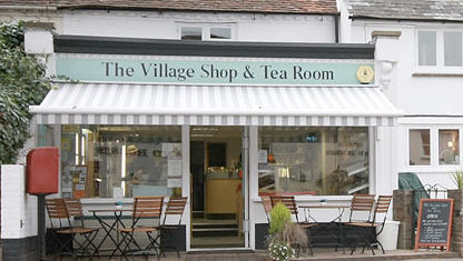 Christmas Evening Shopping at Compton Village Shop and Tea Room