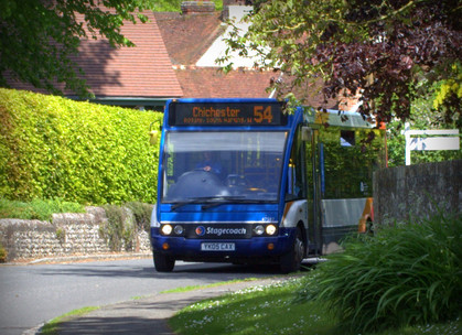 Changes to 54 Bus Timetable