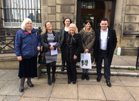 Justice for New Ferry group meet with WBC Cabinet Members