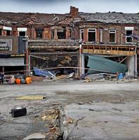 Destruction of New Ferry Shops