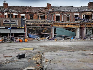 Destruction of New Ferry Shops