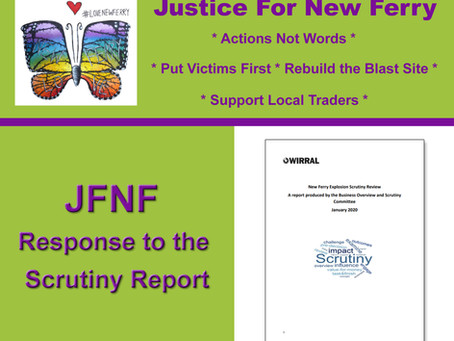 JFNF Response to Scrutiny Report