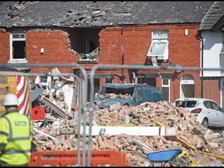 Homes Destroyed in Underley Terrace