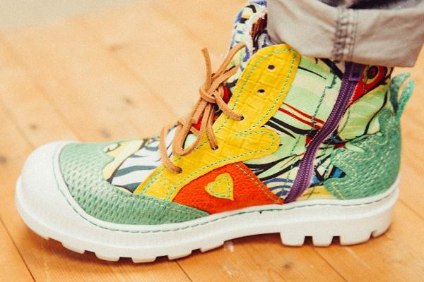 taxi bigoudi , chaussures originales