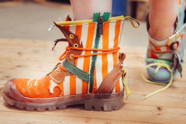 taxi bigoudi, chaussures originales