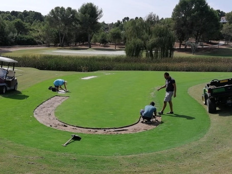 El Bosque Golf Club inaugurates the second phase of the great reform of its course