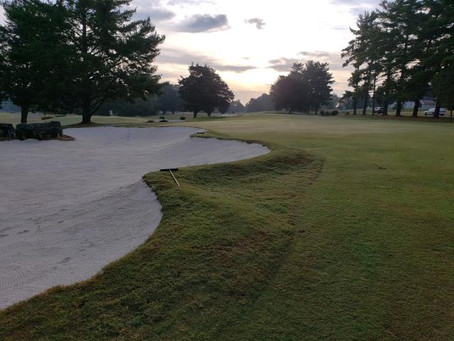 Swan lake Golf Course Renovates Bunkers