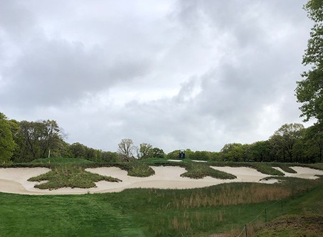 The bunkers of Bethpage Black
