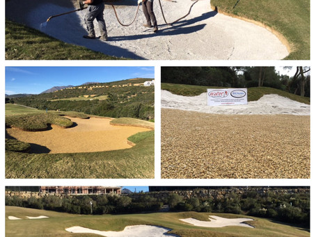 Mafer Golf Continues BBB Installations in Spain