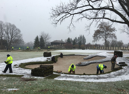 9 takes on golf course bunker renovations