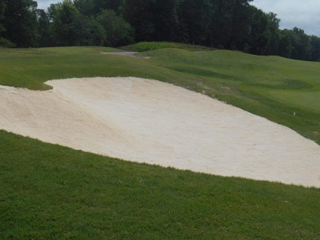 Forest Greens Golf Club near Completion of Bunker Renovation