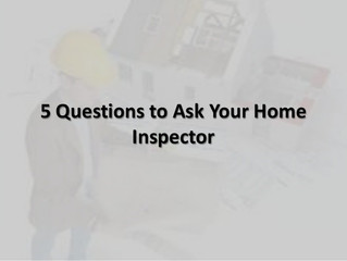 5 Questions You Should Ask Your Albany NY Home Inspector before a Home Inspection