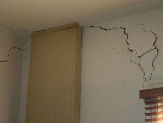 Knowing When a Crack in Your Home Should Be a Concern - observed on the home inspection Saratoga NY.