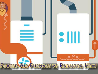 Forced Air Furnace vs. Radiator Heat