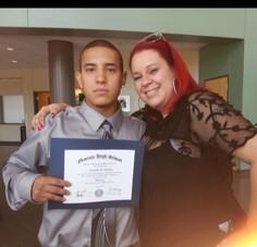 Grad with Jessica