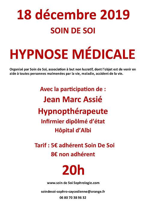18 décembre, Son De Soi Sophrologie, St Juéy, Albi,