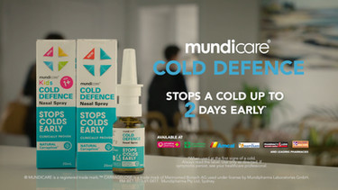 Mundicare Cold Defence TVC