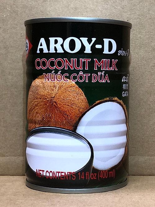 Aroy d coconut milk 14oz