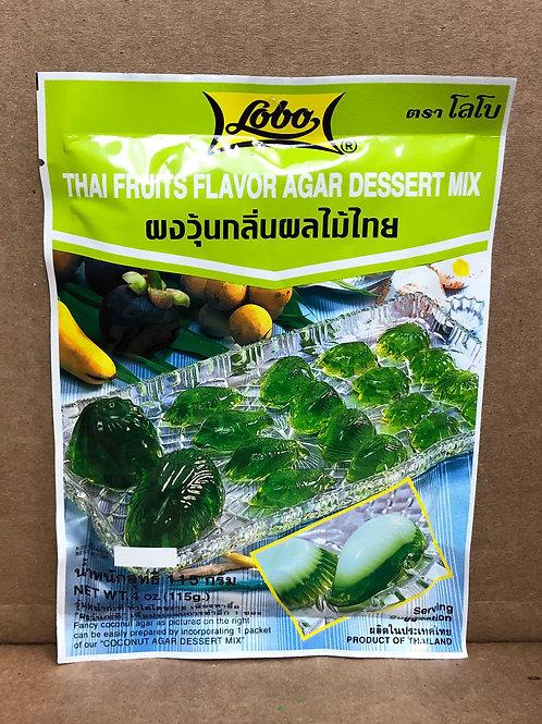 lobo thai fruit agar mix ผงวุ้นผลไม้