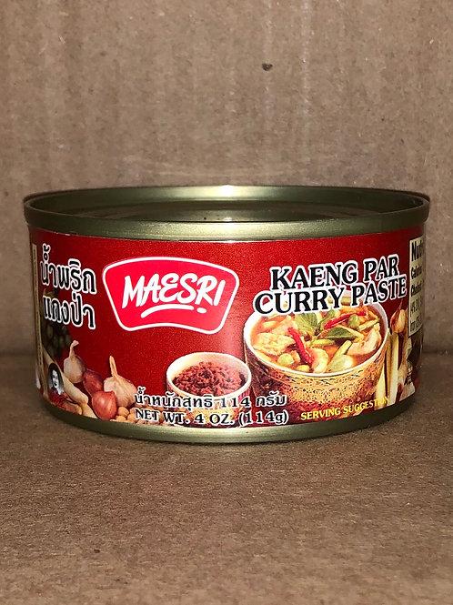 เครื่องแกงแม่ศรี maesri curry 14 แบบ