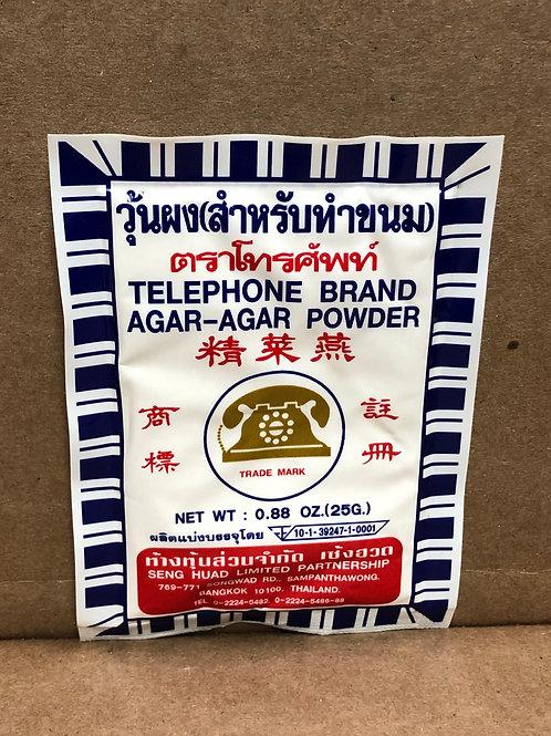 telephone agar ผงวุ้น ยี่ห้อโทรศัพท์