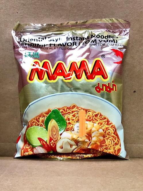 Mama instant noodle บะหมี่กึ่งสำเร็จรูป 3 รส