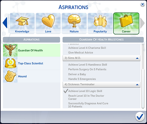 Custom Aspirations:GTW Active Careers
