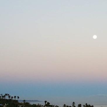 #supermoon no amanhecer da #casita 😍 #n
