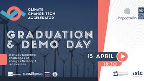 Graduation & demo day | UNDP Climate Change Tech Accelerator v.3