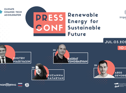 Press Conference: Renewable Energy for Sustainable Future