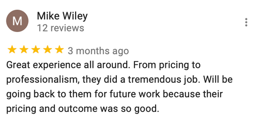 Mike W. Review