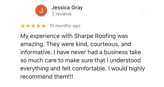 Jessica G. Review