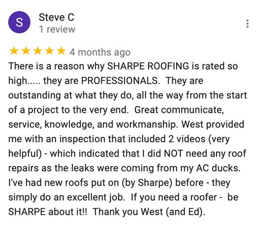 Steve C. Review