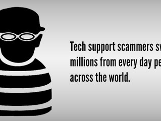 How To Spot A Tech Support Scam Before You Get Stung