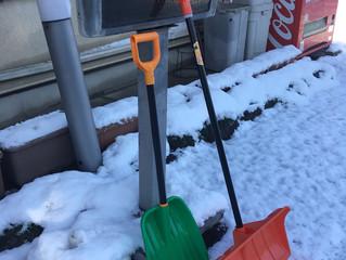 中津川、雪のためランチお休みです