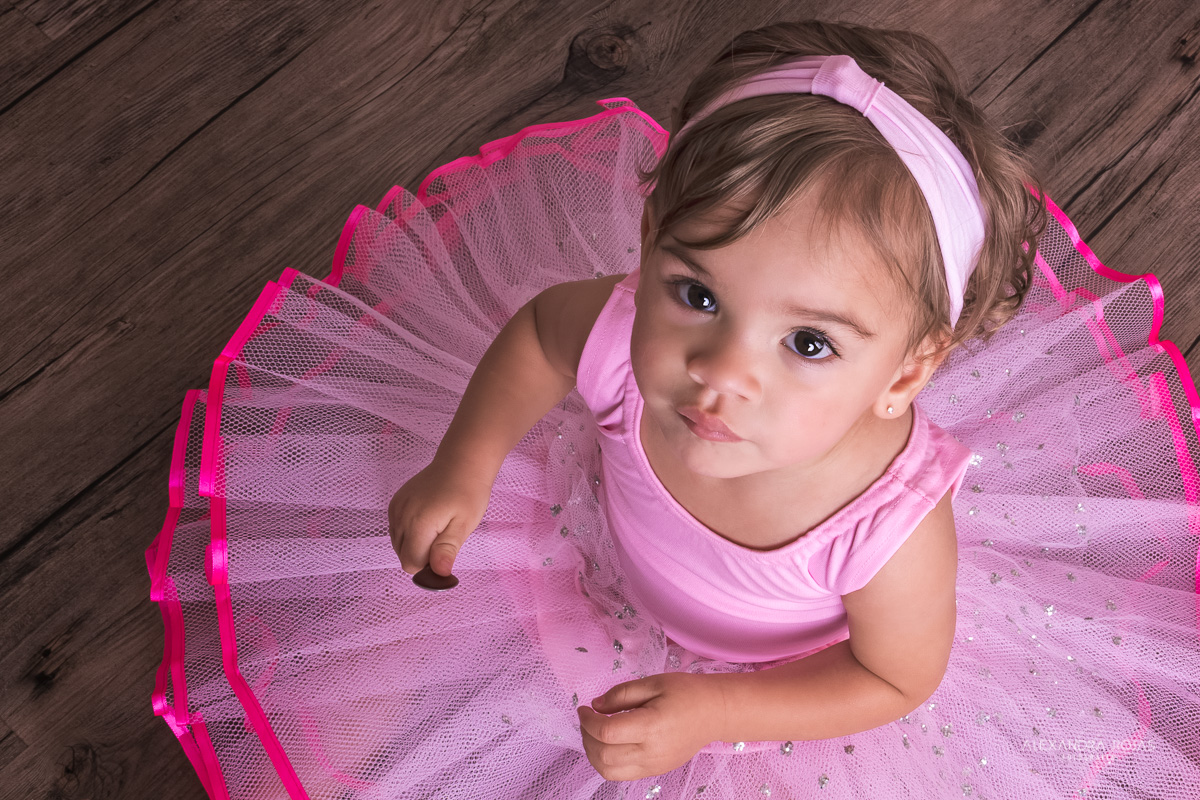 Ensaio Infantil  Bailarina Estúdio