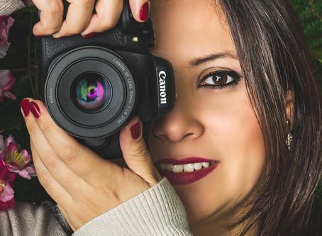 Em que momento a fotografia se tornou minha profissão? Quem sou por trás das câmeras?