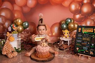 Smash the cake Luis Felipe - Redes Socia