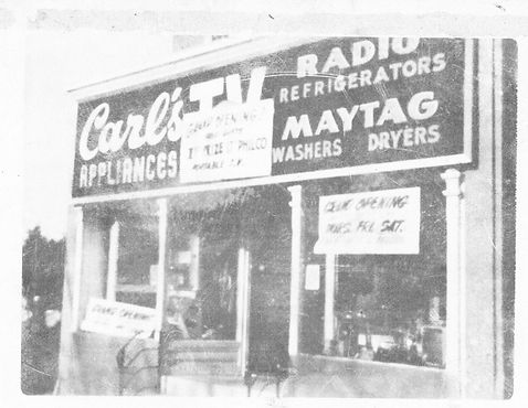 Grand Opening September 1st. 1958 and was located on 203 South Main Street, North Wales Pa.