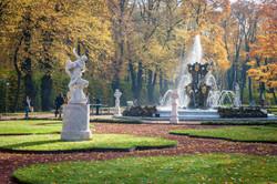 Autumn Fountain