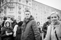 A. Veduta, L. Sobol, A. Navalny and Y. Navalnaya