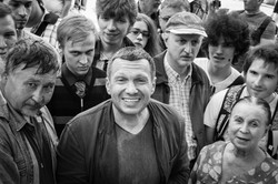 V. Soloviev and his listeners