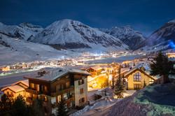 Evening in Alpine Village