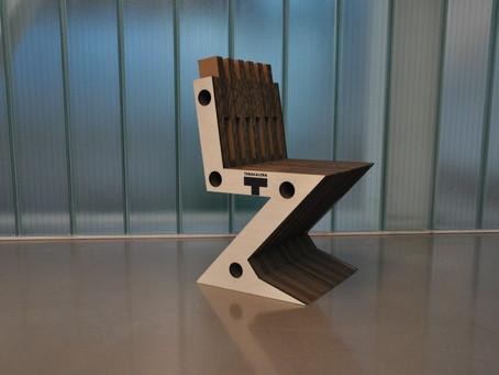 Making of: Design de Chaise en Carton