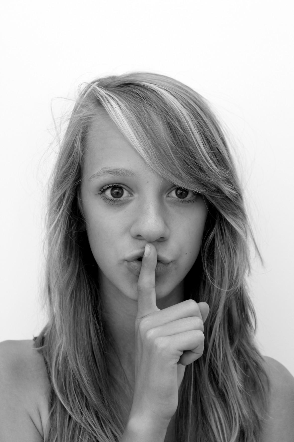 Ssst ...-protestfoto
