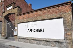 Défense d'afficher © 2012