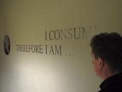zelfportret bij tekst en spiegel