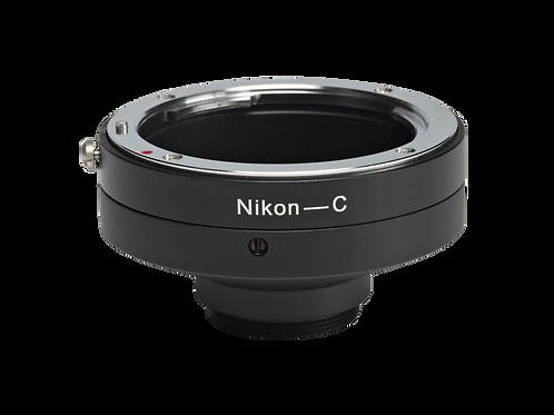 Nikon to C/CS Mount Adapter