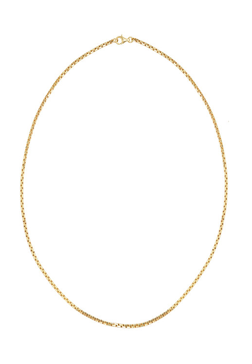 Cube Necklace gold